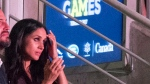 Meghan Markle takes in the Invictus Games Opening Ceremonies in Toronto on Saturday September, 2017. THE CANADIAN PRESS/Frank Gunn