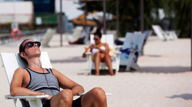 toronto heat, sugar beach