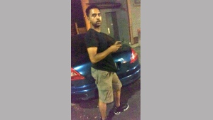 A suspect wanted in connection with a sexual assault that took place in the Deer Park is pictured in this photo released by Toronto police Sept. 26, 2017. (Handout /Toronto Police)