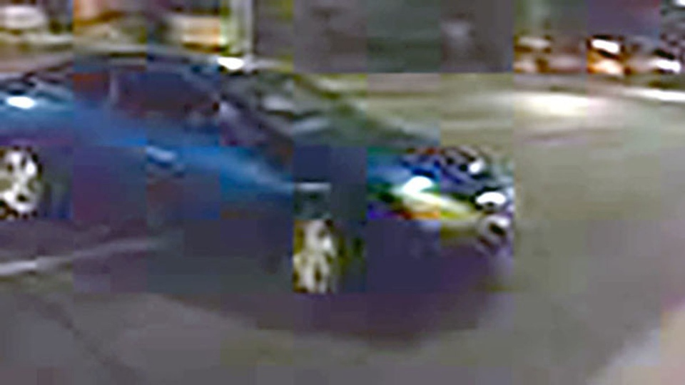A cellphone photograph of a suspect car in a Sept. 26, 2017 Deer Park sexual assault is pictured. (Handout /Toronto police)