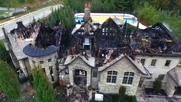 Extended Vaughan Luxury Home Destroyed By Fire Cp24 Com