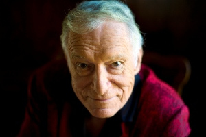 This Oct. 13, 2011 file photo shows American magazine publisher, founder and Chief Creative Officer of Playboy Enterprises, Hugh Hefner at his home at the Playboy Mansion in Beverly Hills, Calif. Playboy magazine founder and sexual revolution symbol Hefner has died at age 91. The magazine released a statement saying Hefner died at his home of natural causes on Wednesday night, Sept. 27, 2017, surrounded by family. (AP Photo/Kristian Dowling, File)