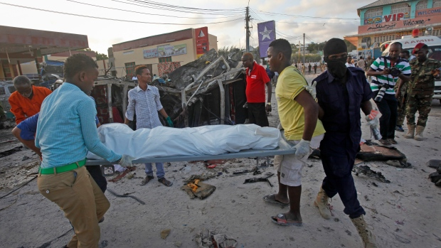 Death toll from vehicle  bomb explosion in Mogadishu rises to 17