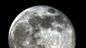 The small space station would be placed in orbit between the Earth and the moon. (Source: Nick Ut/The Associated Press)