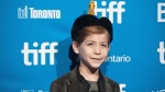 "Actor Jacob Tremblay poses for a photo before a press conference for ""Burn Your Maps"" at the 2016 Toronto International Film Festival in Toronto on Thursday, Sept. 15, 2016. THE CANADIAN PRESS/Galit Rodan"