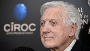 Monty Hall arrives at the 40th Annual Daytime Emmy Awards on Sunday, June 16, 2013, in Beverly Hills, Calif. (Photo by Richard Shotwell / Invision / AP)