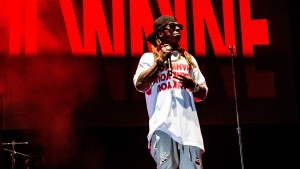 Lil Wayne performs at the Lil' WeezyAna Fest at Champions Square on Friday, Aug. 25, 2017, in New Orleans. (Photo by Amy Harris/Invision/AP, File)