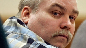 "In this March 13, 2007 file photo, Steven Avery listens to testimony in the courtroom at the Calumet County Courthouse in Chilton, Wis. A lawyer is asking for a new trial for Avery, a Wisconsin man convicted in a case profiled in the ""Making a Murderer"" Netflix series. Attorney Kathleen Zellner filed a document Wednesday, June 7, 2017, claiming Avery's conviction was based on planted evidence and false testimony. (AP Photo/Morry Gash, Pool, File)"