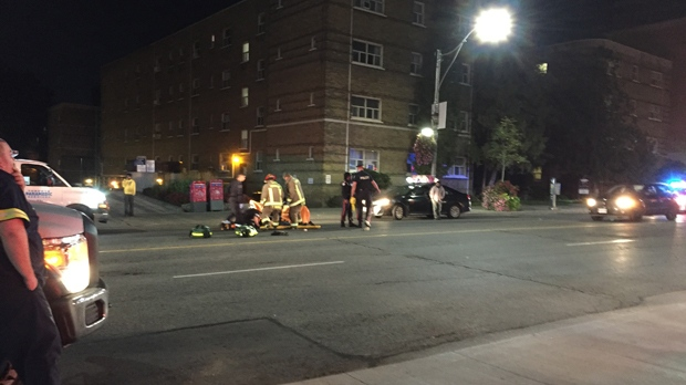 Two Toronto crashes leave one pedestrian dead, 2 injured