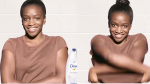 "A controversial ad by Dove has sparked a furor online, with many calling the ad ""racially insensitive."" (Facebook / Dove)"
