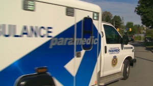 A Toronto ambulance is pictured in this file image.