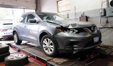 vehicle, pedestrian, struck, Nissan, Rogue