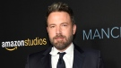 "FILE - In this Nov. 14, 2016 file photo, Ben Affleck poses at the premiere of the film ""Manchester by the Sea"" in Beverly Hills, Calif. Actress Hilarie Burton renewed an earlier allegation that Affleck groped her during a visit to MTV's TRL, which she was hosting in 2003. Affleck tweeted an apology on Wednesday, Oct. 11, 2017: ""I acted inappropriately toward Ms. Burton and I sincerely apologize."" (Photo by Chris Pizzello/Invision/AP, File)"