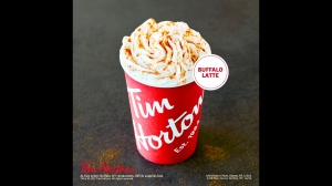 Tim Horton's new 'Buffalo Wing latte. (Tim Horton's)