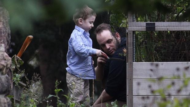 Joshua Boyle and son