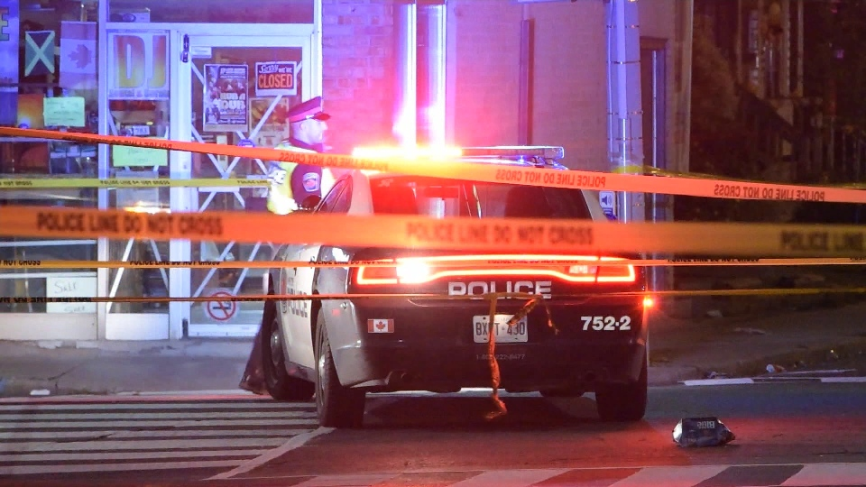 One person has been injured following a shooting in Hamilton on Monday morning.