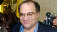 """In this March 28, 2005 file photo, Miramax co-founder Bob Weinstein appears at a premiere of """"Sin City,"""" in Los Angeles. Spike network is investigating reports of sexual harassment by the brother of disgraced film mogul Harvey Weinstein against the female showrunner of a series produced by The Weinstein Co. and aired on Spike. Amanda Segel, a producer of the sci-fi series """"The Mist,"""" claims Bob Weinstein made continued romantic overtures, according to a story published Tuesday by Variety. (AP Photo/Chris Pizzello, File)"""