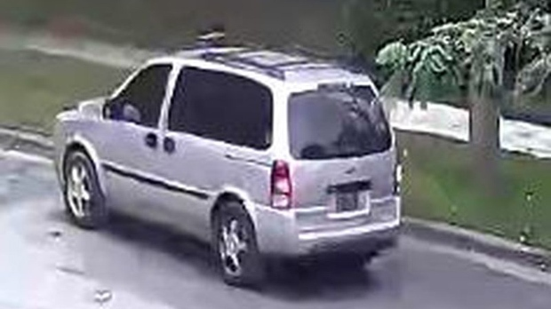 Police Release Photos Of Suspect Vehicle Wanted In North