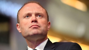 Malta's Prime Minister Joseph Muscat arrives for a meeting of European Socialists prior to an EU summit in Brussels on Thursday, Oct. 19, 2017. European Union leaders are gathering for a two day summit to discuss migration, digital economy and Brexit. (AP Photo/Geert Vanden Wijngaert)
