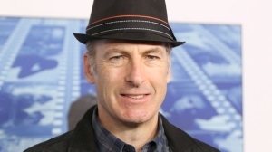 """In this Sept. 26, 2017 file photo Bob Odenkirk arrives at the Los Angeles premiere of """"Spielberg"""" at Paramount Studios. Odenkirk, is sponsoring a benefit in Albuquerque, where his former series """"Breaking Bad"""" and current series """"Better Call Saul"""" is filmed, for the victims of Hurricane Maria in Puerto Rico . He'll be joined by Steven Michael Quezada, who played a federal drug enforcement agent in """"Breaking Bad"""". The event will be on Oct. 23 at an Albuquerque brewer and is part of a broader effort by actress Anne Heche to raise money for the island. (Photo by Willy Sanjuan/Invision/AP,File)"""