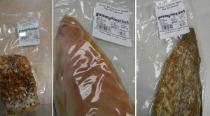 Some of the packaged fish sold at Yummy Market stores in the GTA that are being recalled by the Canadian Food Inspection Agency (CFIA)