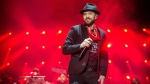 In this Sept. 23, 2017, file photo, Justin Timberlake performs at the Pilgrimage Music and Cultural Festival in Franklin, Tenn. (Photo by Amy Harris/Invision/AP, File)