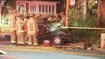 Midtown, crash