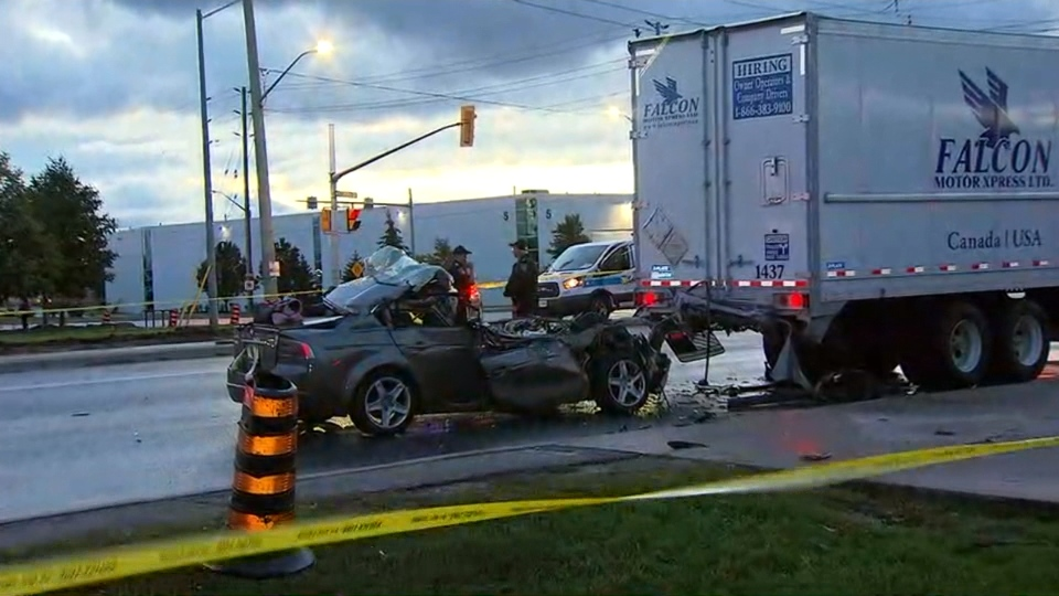 Car Accident Toronto July