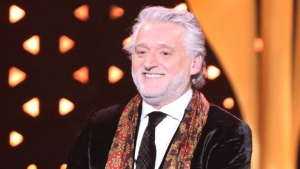 Gilbert Rozon, founder and president of Just for Laughs, accepts the prestigious Icon Award at the 2017 Canadian Screen Awards in Toronto on Sunday, March 12, 2017. THE CANADIAN PRESS/Peter Power