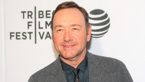 "In this April 19, 2016 file photo, Kevin Spacey attends the ""Elvis & Nixon"" world premiere screening during the 2016 Tribeca Film Festival in New York. (Photo by Andy Kropa/Invision/AP, File)"