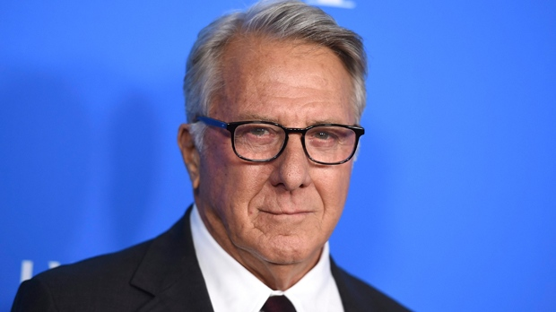 "In this Aug. 2, 2017 file photo, Dustin Hoffman arrives at the Hollywood Foreign Press Association Grants Banquet in Beverly Hills, Calif. Hoffman is apologizing for alleged sexual harassment of a 17-year-old intern in 1985. Writer Anna Graham Hunter alleges that the 80-year-old actor groped her on the set of TV movie ""Death of a Salesman"" and ""talked about sex to me and in front of me."" (Photo by Jordan Strauss/Invision/AP, File)"