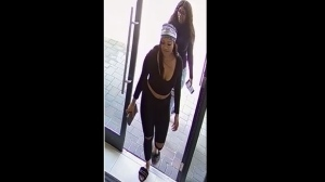 "Toronto police are searching for two suspects after a ""KimKardashian-style"" wig was stolen on Oct. 10. (Toronto police handout)"