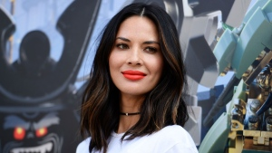 "In this July 21, 2017 file photo, actress Olivia Munn attends ""The Lego Ninjago Movie"" photo op at Comic-Con International in San Diego. (Photo by Richard Shotwell/Invision/AP, File)"