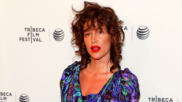 "In this April 19, 2015 file photo, Paz de la Huerta attends the Tribeca Film Festival world premiere of ""Bare"" at the SVA Theatre in New York. The actress accused Weinstein of raping her two times in 2010 in a CBS News report that aired Thursday, Nov. 2, 2017. The Manhattan district attorney'Äôs office confirms it is investigating the claims along with New York police detectives. Weinstein through his spokeswoman has denied de la Huerta'Äôs accusations. (Photo by Andy Kropa/Invision/AP, File)"