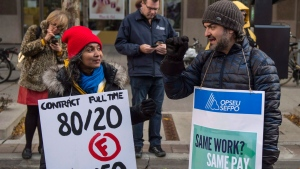 Ontario college strike