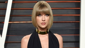 In this Feb. 28, 2016 file photo, singer Taylor Swift attends the Vanity Fair Fair Oscar Party in Beverly Hills, Calif. (Photo by Evan Agostini / Invision / AP, File)