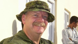 Major Mark Bossi is pictured in this 2003 photo. (Submitted)