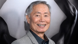 "In this March 15, 2016 file photo, actor George Takei attends the premiere of ""Mapplethorpe: Look at the Pictures"" in Los Angeles, Calif. ""Star Trek"" actor Takei has denied he groped a struggling model in 1981.  Takei said Saturday, Nov. 11, 2017, in a series of tweets that events described in an interview with Scott R. Brunton ""simply did not occur."" He says he ""didn't know why he has claimed them now."" (Photo by Phil McCarten/Invision/AP, File)"