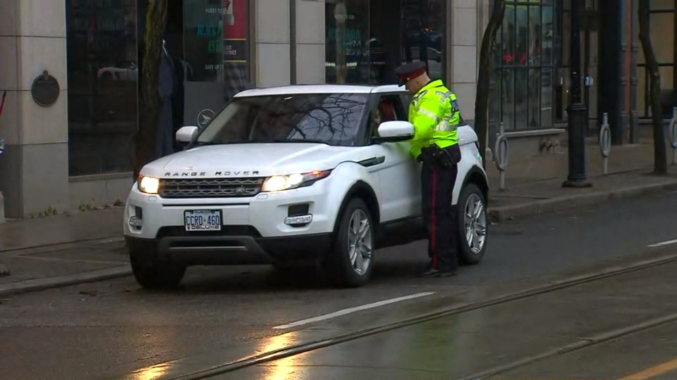 Police are warning drivers about the new rules on King Street on Monday morning.
