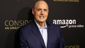 "In this April 22, 2017 file photo, Jeffrey Tambor arrives at the ""Transparent"" FYC special screening in Los Angeles. Trace Lysette, an actress on ""Transparent,"" says the show's star Tambor pressed his body against hers in a sexually aggressive manner during filming and made inappropriate and unwanted sexual statements. Tambor denies the allegations saying he has 'never been a predator - ever.' (Photo by Willy Sanjuan/Invision/AP, File)"