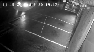 Surveillance camera footage shows a hit-and-run that took place in Markham. (York Regional Police)