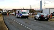 oakville industrial accident