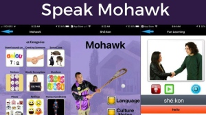 Six Nations Polytechnic launches new Mohawk language app as shown in this handout image. THE CANADIAN PRESS/HO-Nations Polytechnic.