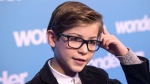 "Jacob Tremblay, star of the movie ""Wonder"" attends an event at Toronto's Sick Kids Hospital, in Toronto on Monday November 20, 2017. Vancouver child actor Jacob Tremblay was in Toronto on Monday for a special screening of his new film ""Wonder"" about a child with facial deformities -- sharing it with a group of young patients who live that reality every day and helped him prepare for his role. The 11-year-old plays Auggie Pullman, a child with Treacher Collins syndrome, a rare congenital condition in which babies are born with underdeveloped facial bones and often little or no external ears. THE CANADIAN PRESS/Chris Young"