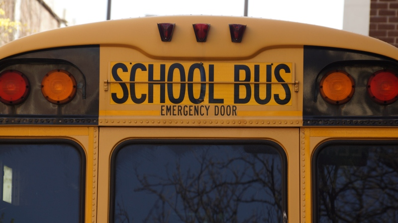 A school bus is seen in this undated file photo.