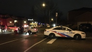 The Toronto Police Service's homicide unit is investigating a deadly shooting in Malvern. (Mike Nguyen/ CP24)
