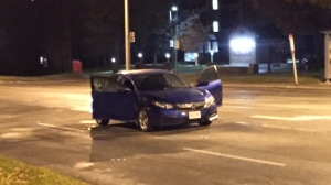 Police are investigating a shooting near Islington and Finch avenues. (Mike Nguyen/ CP24)
