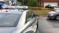 Police are investigating a deadly shooting in Malvern.