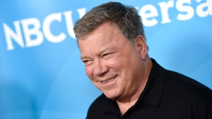In this April 2, 2015 file photo, William Shatner arrives at the NBC Universal Summer Press Day at The Langham Huntington Hotel in Pasadena, Calif.  (Photo by Chris Pizzello/Invision/AP)