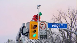 The city has installed smart signals at 22 intersections across the city.